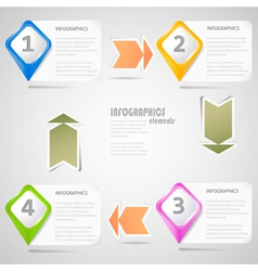 Original infographics elements vector
