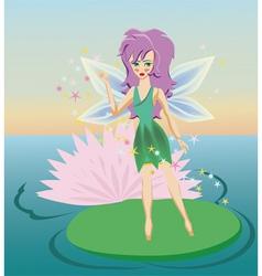 Fairy cartoon vector