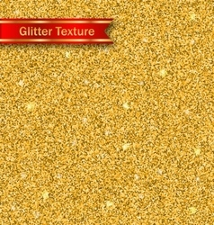 Glitter seamless pattern golden luxury wallpaper vector
