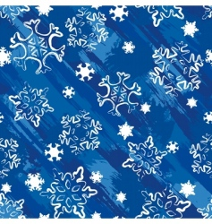 grunge winter background vector image vector image