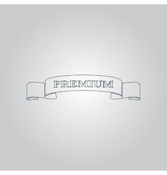 Vintage label design element vector image vector image