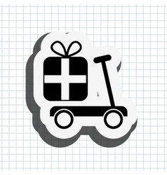 Toys gift design vector