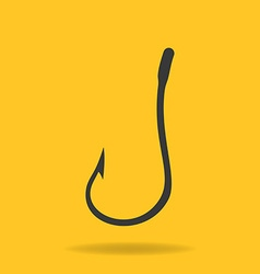 Icon of Fishing Hook vector image