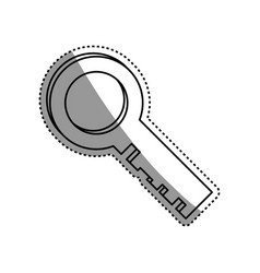 key security golden vector image