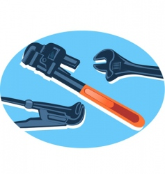 spanner vector image