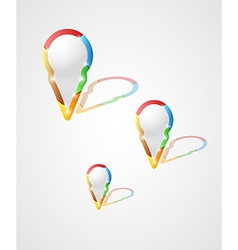 Three pointers with reflection vector