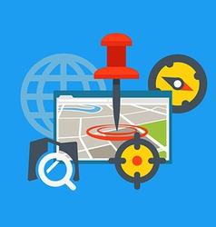 Transportation application concept vector