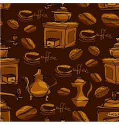 Coffee handdraw seaml 4 380 vector