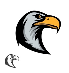 Eagle mascot sports team emblem template vector