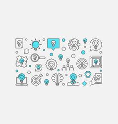 Ideas concept vector