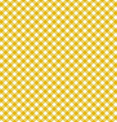 Table cloth seamless pattern yellow vector image vector image