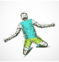 Abstract man vector