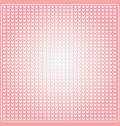 Seamless pattern in the embossed heart vector
