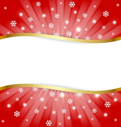 Christmas document template vector