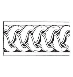 Antique enrichment torus moulding is a bundle of vector