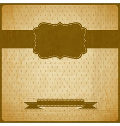 EPS10 vintage grunge old card Background with vector image vector image