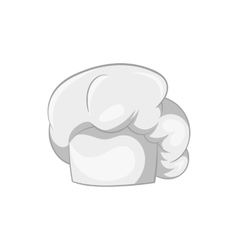Hat chef icon black monochrome style vector image vector image