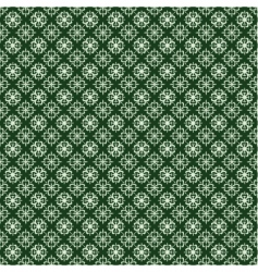 St Patrick's clover pattern vector image