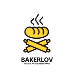 Logo of fresh bread vector