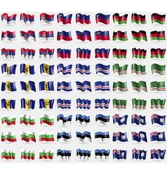 Serbia liechtenstein malawi barbados cape verde vector