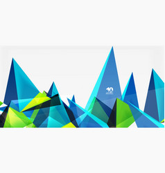 3d triangles geometric vector