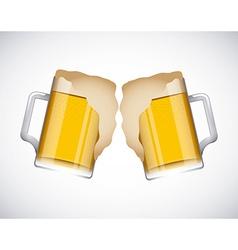 Coold beers vector
