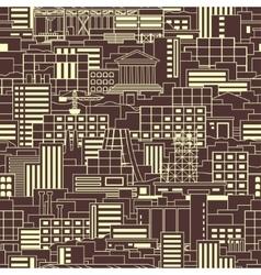 Industrial pattern linear vector