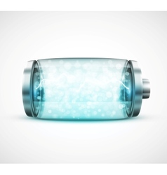 Isolated battery vector image vector image