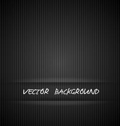 Black strips background vector image