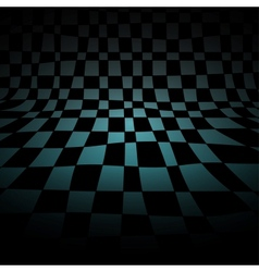 Abstract chess room vector