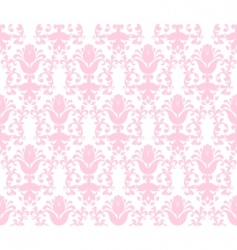 Floral wallpaper background vector