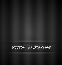 Black strips background vector image