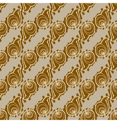 Doodles seashells background seamless pattern vector
