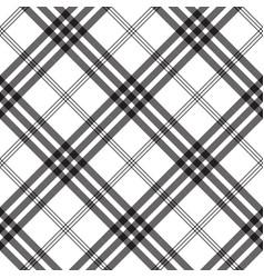 black white check pixel square fabric texture vector image