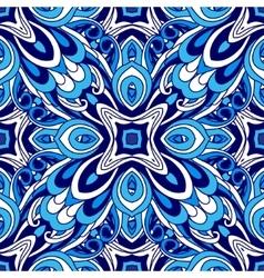 Abstract seamless pattern flourish vector