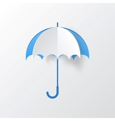 Abstract Umbrella on White Background vector image