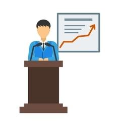 Report presentation vector