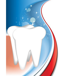 Tooth background vector