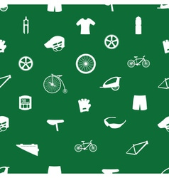 Cycling icon pattern eps10 vector