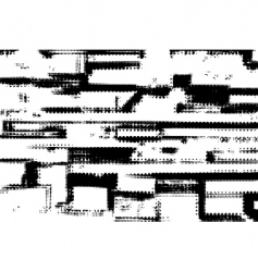 grunge halftone vector image vector image