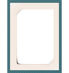message frame vector image vector image