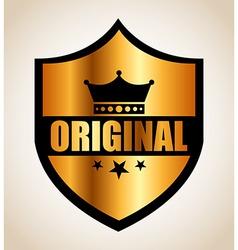 original seal vector image