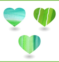 Artistic heart design vector