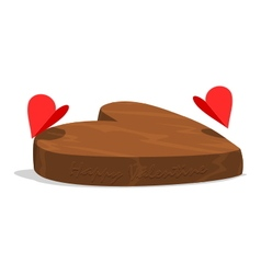 Happy valentine chocolate vector