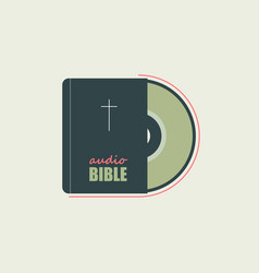 Bible in audio format vector