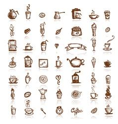 coffee company vector image vector image