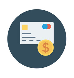 credit cash vector image vector image