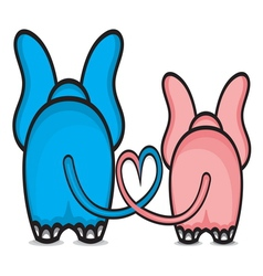 Slonce srce ljubav resize vector image