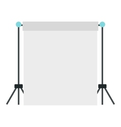 Screen icon flat style vector