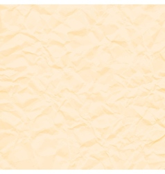 Abstract brown background crumpled old paper vector image